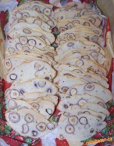 """""""Hubené"""" cukroví lupínky třísky... - recipe to make at the beggingn of december"""