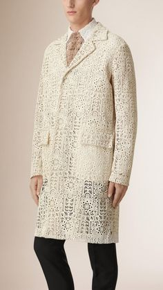 Burberry Makes a Lace Style Proposal