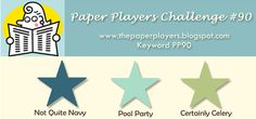 The Paper Players: Challenge #90-LeAnne's Colour Challenge