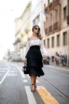 All the Milan Fashion Week Street Style From SS16 - Flare