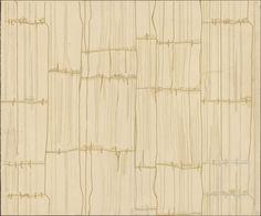 "design-is-fine: "" Arne Jacobsen, textile or wallpaper design, 1950s - 1960s. Drawing. Denmark. Via kunstbib.dk """