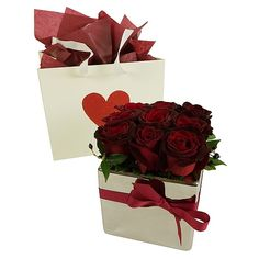 Romantic Roses - Auckland Delivery Only - Bestow Gifts + Flowers Send Flowers, Fresh Flowers, Men And Babies, Valentine Day Gifts, Valentines, Best Gift Baskets, Romantic Roses, Beautiful Gifts, Auckland