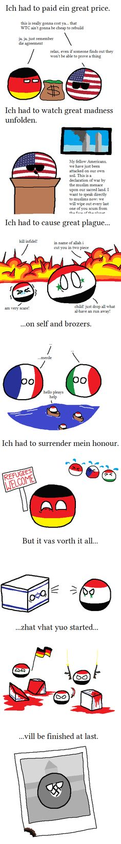 Finishing the Inside Job | Polandballs Countryballs