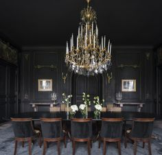 10 Rooms that Make Black Walls Work | Apartment therapy, Therapy ...