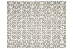 3'x5' Packer Rug, Silver/Ivory on OneKingsLane.com