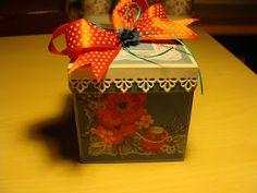 luzikowo-moje hobby: Pudełko exploding  box  na  18