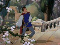 """The Prince (""""Snow White"""") Ever realize how his lips are redder than Snow Whites ? '-'"""