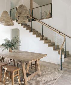 | house interior | house interior design | house interior colors | house interior ideas | dream home | staircase ideas | dining room ideas | dining room table | dining room decor | dining room | dining room lighting