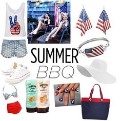 summer by shirleyarrington on Polyvore featuring polyvore fashion style Tinsel Converse Tommy Hilfiger 1928