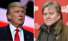 """The man behind the curtain is the one who's running the show.  """"I don't know whether [Trump] really gets it or not,"""" Bannon told Vanity Fair soon after he took over, in a fully transparent statement about who's running this political show."""