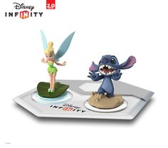 tinker bell and stitch disney infinity Stitch and Tinkerbell Announced as Latest Disney Infinity Characters Lilo And Stitch Merchandise, Disney Merchandise, Disney Games, Disney Food, Disney Stuff, Disney Infinity Characters, Infinity The Game, Disney Figurines, Sculpture