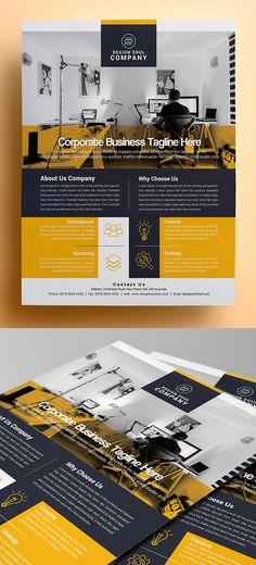 Corporate Photoshop Flyer Template