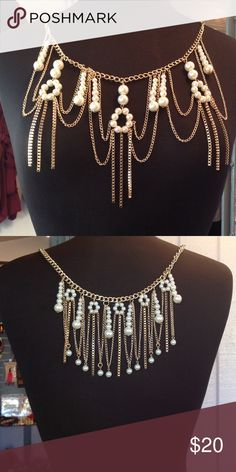Pearl Body Chain Embellished body chain. Jewelry