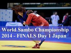 World Sambo Championship 2014 - FINALS Day 1 Japan