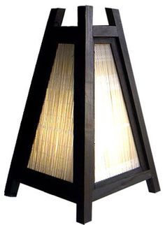Exterior Design, Alluring Asian Table Lamps For Asian Lighting Style Called The . - Exterior Design, Alluring Asian Table Lamps For Asian Lighting Style Called The Wicker Pyramid: The - Asian Interior Design, Asian Design, Asian Lighting, Asian Table Lamps, Lampe Decoration, Oriental Decor, Asian Decor, Do It Yourself Home, Exterior Design