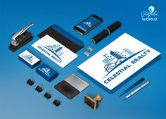 Complete branding and corporate identity real estate http://graphicworld.co
