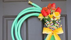 Useful spring wreath