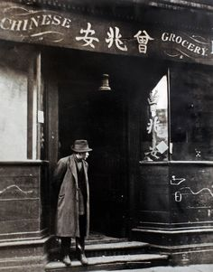 Limehouse Chinatown, London, 1930s.