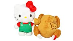 Hello Kitty Apparently Has a Reversible Plush Line Straight from Hell
