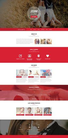 Dating Responsive Website Template, #Ad #Responsive #Dating #Template #Website Sites Online, Online Tests, Online Dating, Site Inspiration, Profile Website, Site Vitrine, Web Design, Design Ideas, Test Video