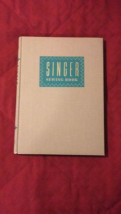 Vintage Singer Sewing Book By Mary Brooks by VintageBooksAndDecor