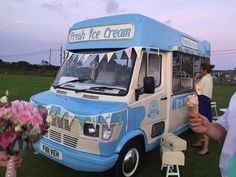 'Archie' is an original Whitby Morrison Mercedes 208d vintage ice cream van. If you live in the south west you can invite him along to entertain your guests at your next event or function xx www.devonvintageicecreamvan.co.uk