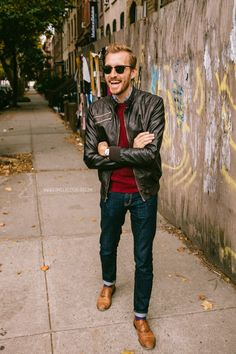 October 25, 2013. Jacket:Quilted Faux Leather- Forever 21 - $43Sweater:Merrick-Frank & Oak- $60Shirt:J. Crew Factory- $29Jeans:...