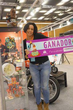 Berna Garcia de Ilusiona Cakes, ganadora del concurso Sweet Challenge