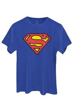 Camiseta Unisex Superman Logo Oficial