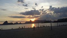 #spiaggia #icarai #tramonto #riodejaneiro #brasile