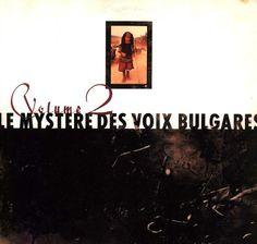 "CvA332. Le Mystère Des Voix Bulgares - ""Volume 2"" by Vaughan Oliver / 4AD 1988 / CAD 801  / #Albumcover"