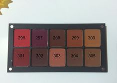 INGLOT What a Spice! Collection - Eyeshadows, Lipsticks, Lipliner - Review and Swatches