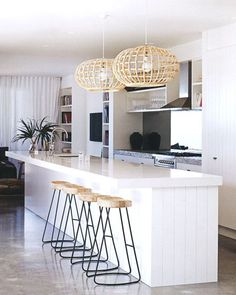 love the light, simplicity of the kitchen.
