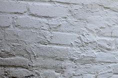 painted brick - white