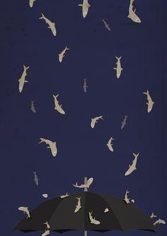 "Nakata"" (by yzawuthrich) Kafka On The Shore, Cozy Library, Norwegian Wood, Art Textile, Haruki Murakami, Fish Art, Pattern Wallpaper, Book Worms, Art Drawings"