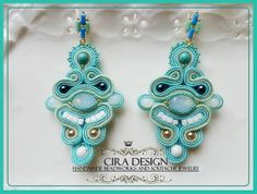 Soutache earrings by Cira Design
