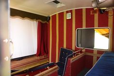 Worlds Smallest Cinema!     An old caravan has been turned into a (yes!) Solar Powered Cinema! Complete with usherettes!