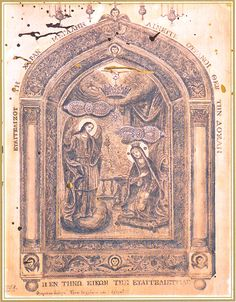 """""""Panayia Tinou"""" is perhaps the most venerated icon in Greece depicting the Mother of God and the Annunciation of the Gospel. Religious Icons, Religious Art, Queen Of Heaven, Orthodox Icons, Holy Mary, Blessed Mother, Mother Mary, Illuminated Manuscript, Byzantine"""