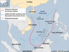 China approves military garrison for disputed islands.  BBC Jul 2012