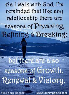 Walking Season with God.