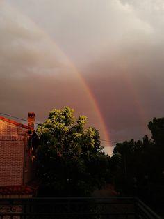 Reflejo del arco-iris.