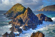Slea Head in County Kerry, Ireland.