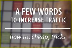 Web Traffic: Your Online Business's Key to Success - Oh! I See