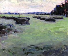 A Forest Stream Maria Yakunchikova - 1890-1893