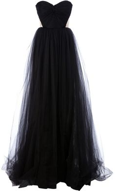 black gown ♥