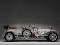 1915 Rolls Royce Silver Ghost L-E Tourer luxury retro wheel wheels