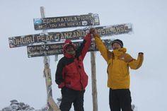 Top of Africa. Mt.Kilimanjaro[5895m]  It took 5days6nights.