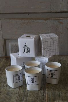 Astier de Villatte candles. These are pricey but I am addicted to them!!!