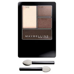 Maybelline Expert Wear Eyeshadow Quads - 02Q Natural Smokes