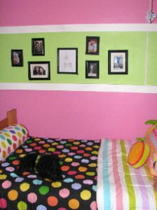 Girls room idea. Paint colors for Memphis and Mia